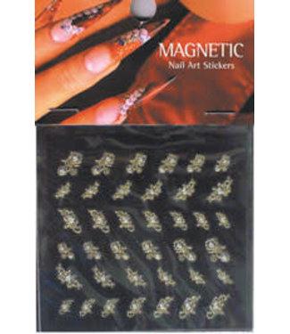 Magnetic Nail Design Nailart Sticker 117417