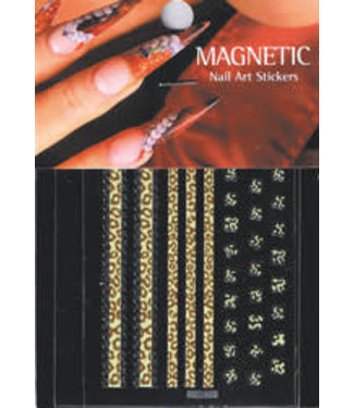 Magnetic Nail Design Nailart Sticker 3D 117425