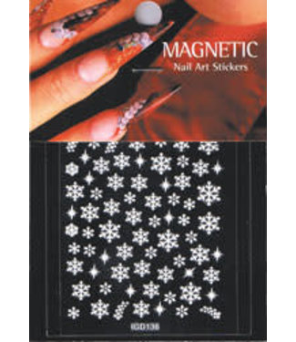 Magnetic Nailart sticker 3D 117430