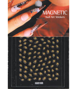Magnetic Nail Design Nailart sticker 3D 117431