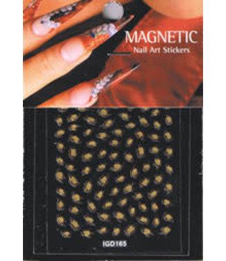 Magnetic Nailart sticker 3D 117431