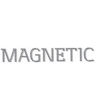 Magnetic Magnetic Logo Swarovski 20x3cm