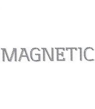 Magnetic Nail Design Magnetic Logo Swarovski 20x3cm