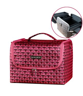 Magnetic Beauty Case Rood / Roze