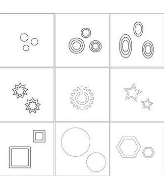 Magnetic Nail Design AirNails Mask. Geometric Level 2