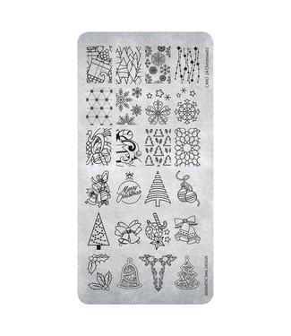 Magnetic Nail Design Stempelplaat 26 Christmas #2