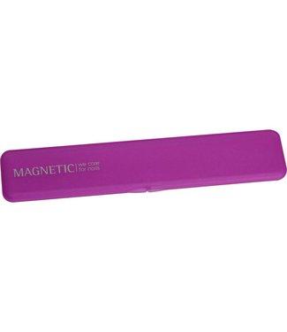 Magnetic Nail Design File Box Pink