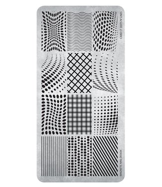 Magnetic Stempelplaat Dots 'n' Lines