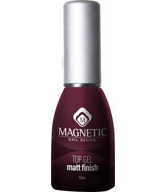 Magnetic Nail Design Matt Top Gel 15 ml.
