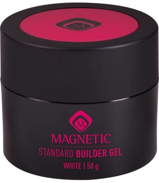 Magnetic Standard Builder Gel White