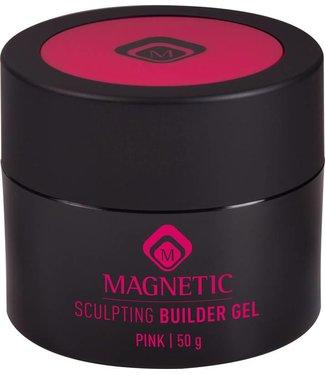 Magnetic Nail Design Sculpting Gel Pink