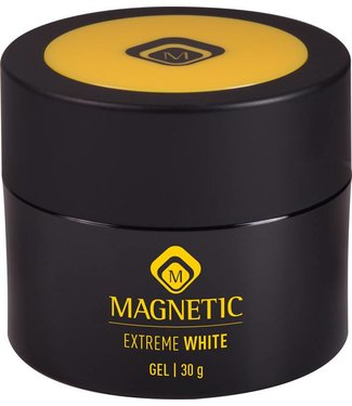 Magnetic Nail Design Magnetic Extreme White One Coat French Gel 30 gr.
