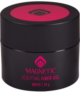 Magnetic Fiber Sculpting Gel White