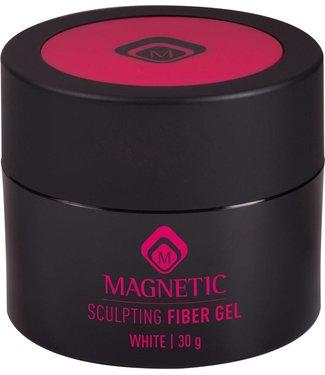 Magnetic Nail Design Fiber Sculpting Gel White