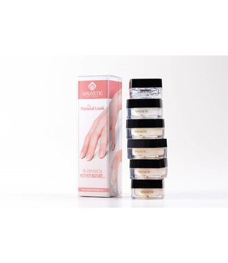 Magnetic Nail Design Natural White Gel Starterkit