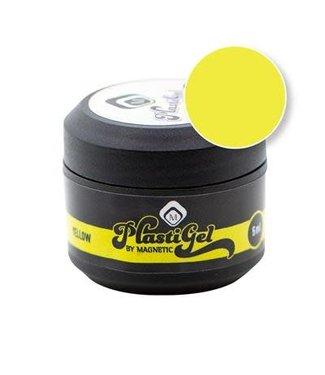 Magnetic Nail Design Plastigel Yellow 5 gr.