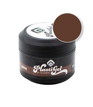 Magnetic Nail Design Plastigel Brown 5 gr.