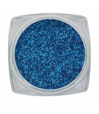 Magnetic Nail Design Chrome Sparkle Blue