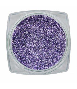 Magnetic Nail Design Chrome Sparkle Purple