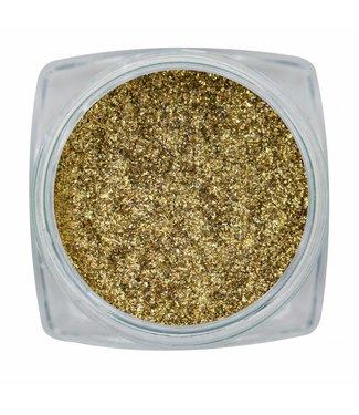 Magnetic Nail Design Chrome Sparkle Gold