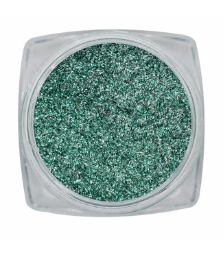 Magnetic Nail Design Chrome Sparkle Green