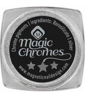 Magnetic Nail Design Magic Chrome Pigment