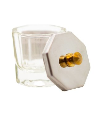 Magnetic Dappendish glas klein met deksel