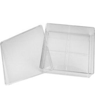 Magnetic Box voor 16 potjes acryl, verf e.d.