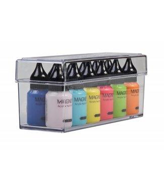 Magnetic Nail Design Box voor Nail Art Verf