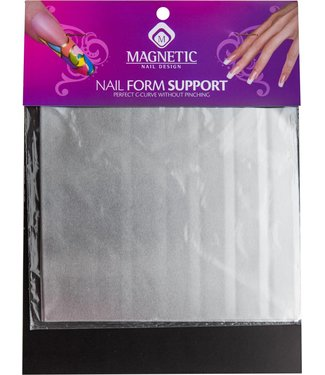 Magnetic Nail Design Nail Form Support 4 sheets