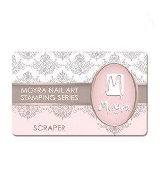 Moyra Schraper nr. 1 lichtroze/transparant