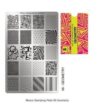 Moyra Stempelplaat 08 Geometry