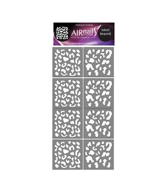 Magnetic Nail Design Airnails Collectie Safari 3 Leopard