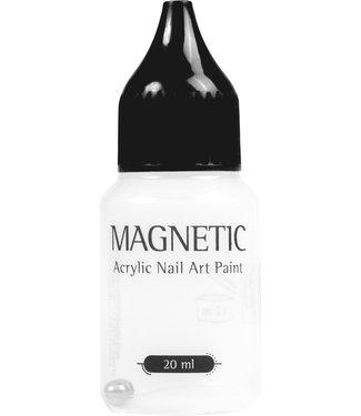 Magnetic Nail Design Leeg verfflesje met zwarte dop