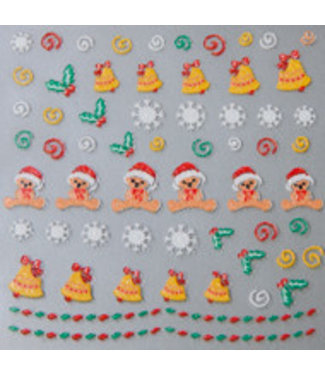 Magnetic Christmas Sticker New 02