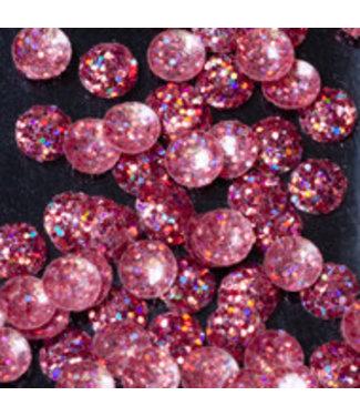Magnetic Nail Design Bling Bling Drops Pink