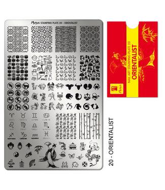 Moyra Stempelplaat 20 Orientalist