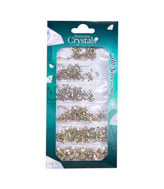 Magnetic Nail Design Awesome Crystals Ice, 6 maten x 288 st.