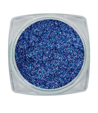 Magnetic Nail Design Sparkle Chrome Violet