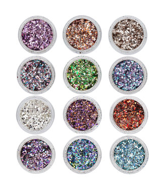 Magnetic Mixed Metal Flakes