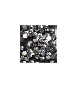 Magnetic Strass rond clear small 100 st.