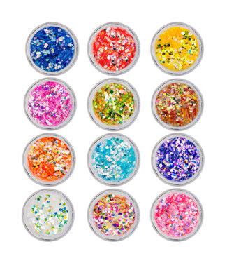 Magnetic Nail Design Confetti Dots