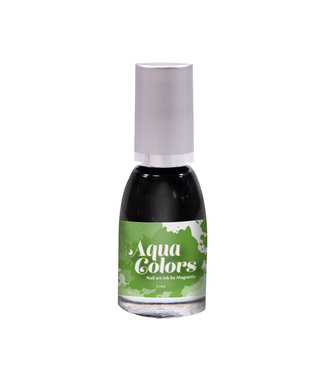 Magnetic Nail Design Aqua Colors Green 7 ml.