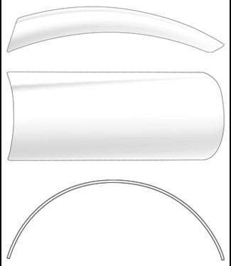 Magnetic A Curve Tips 50 st. per maat