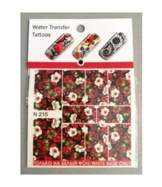 Water Transfer Tattoo N215
