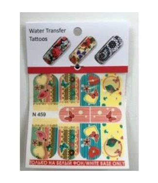 Water Transfer Tattoo N459