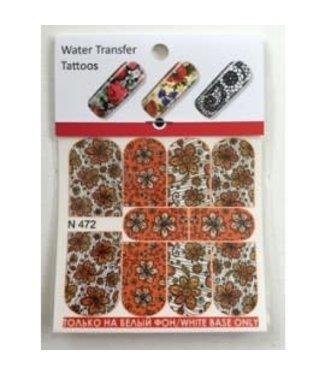 Water Transfer Tattoo N472