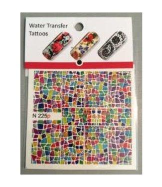 Water Transfer Tattoo N225p