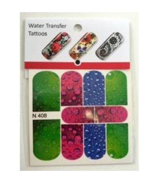 Water Transfer Tattoo N408