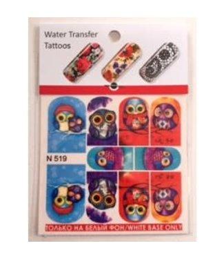 Water Transfer Tattoo N519